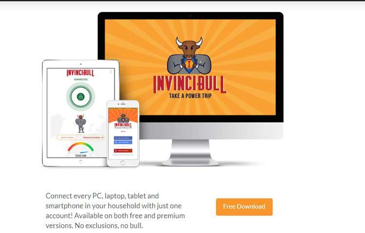 invincibull vpn service provider