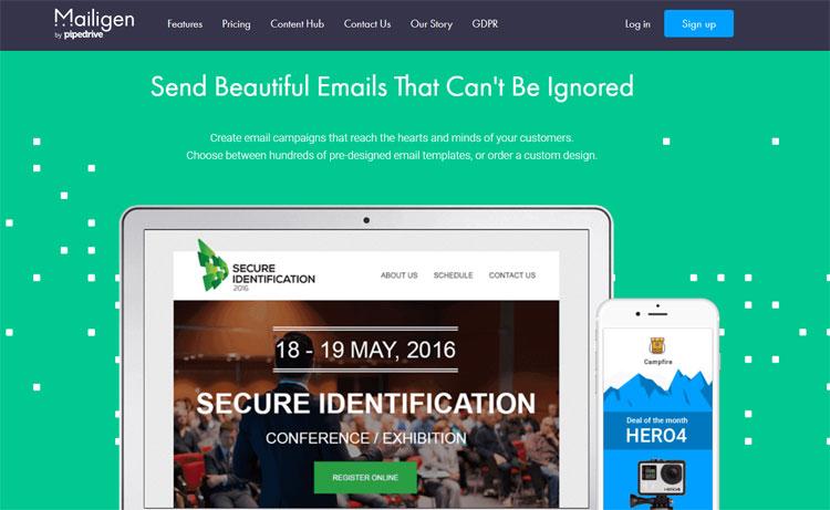 mailigen email marketing software