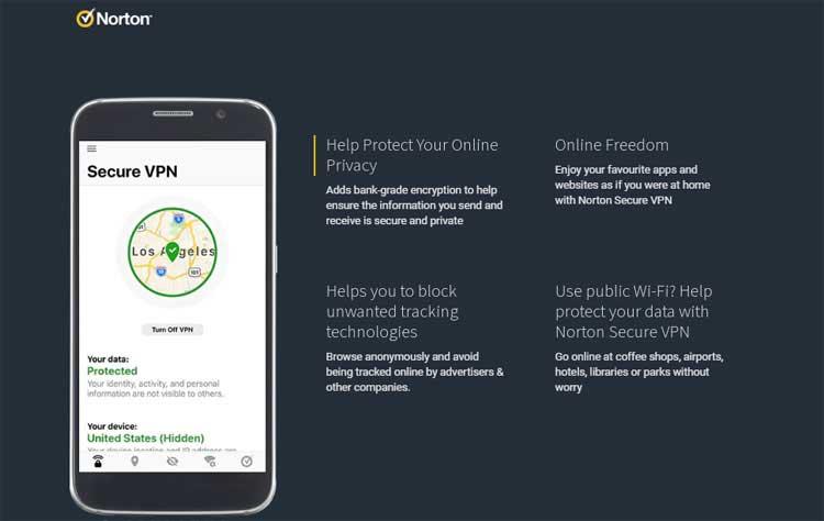 norton vpn service provider