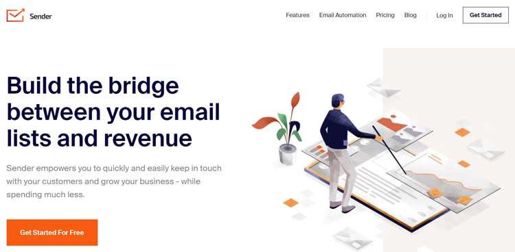 sender email marketing platform