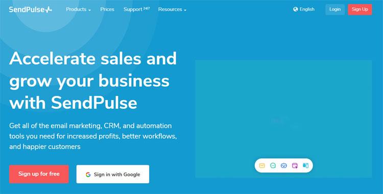 sendinpulse email marketing platform