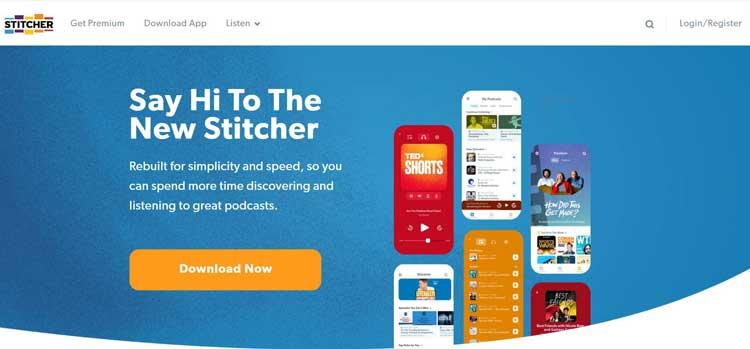 stitcher podcast submission site