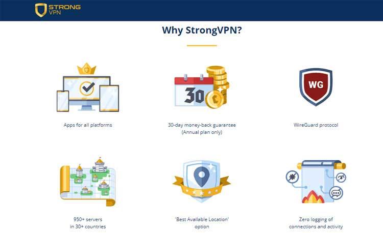 strong vpn service provider