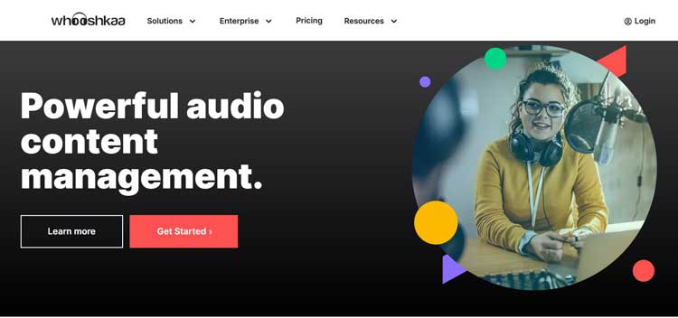 whooshkaa podcast hosting platform