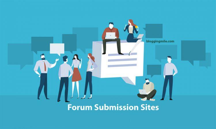 Top High PR Forum Posting Sites List