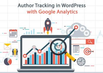 author tracking wordpress google analytics