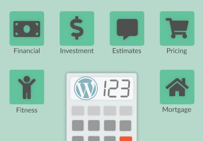 types of calculators wordpress website