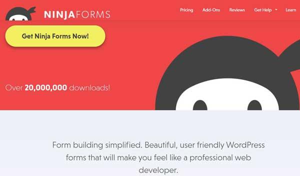 Ninja Forms WordPress Plugin