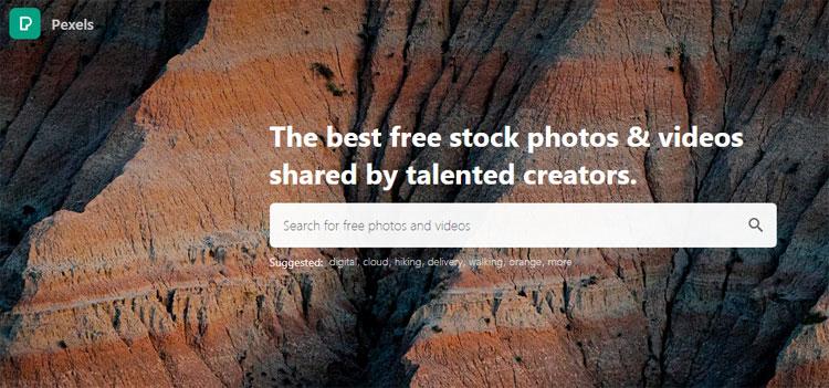 pexels stock site