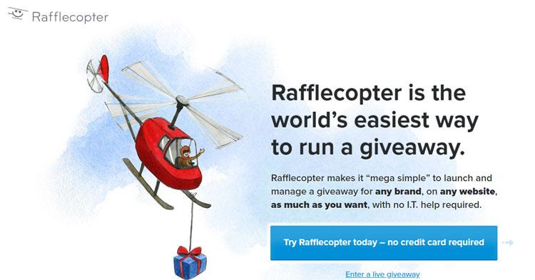 rafflecopter giveaway maker