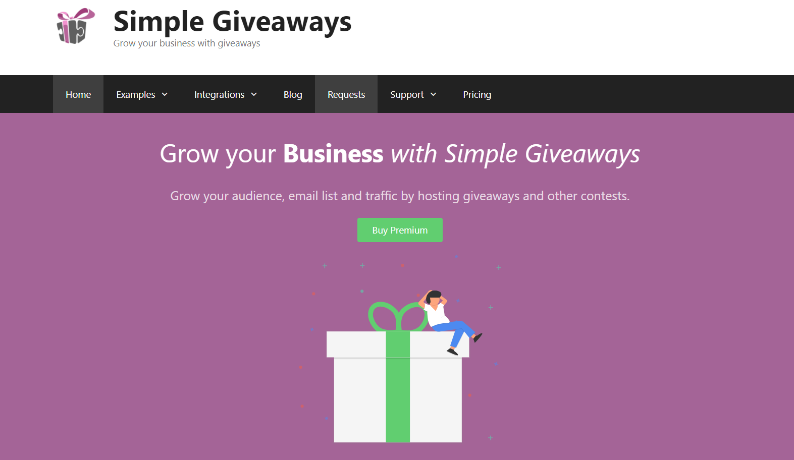 simple giveaway software