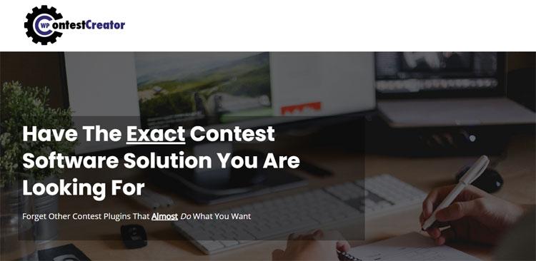 wpcontest creator giveaway tool