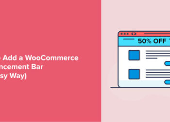 Notification Bars for WooCommerce website