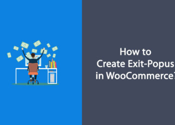 create exit popups in woocommerce