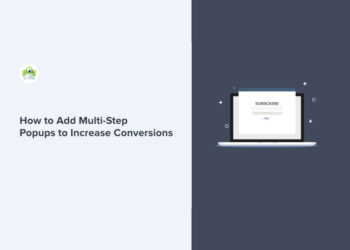 How to Increase Conversions with Easy Multi-Step Popups